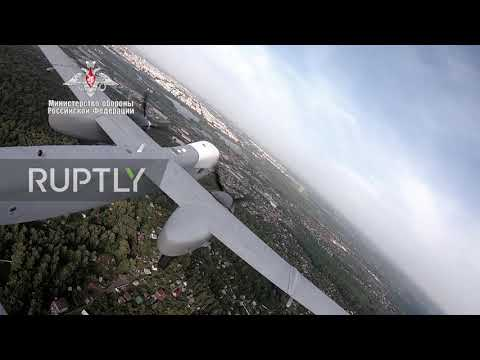 Russia: MoD's new reconnaissance drone makes maiden flight