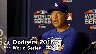 World Series 2018: Dave Roberts on being awake after Game 3 and the approach to Game 4
