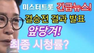 미스터트롯 긴급뉴스, 결승전 발표 일정 앞당겨! 마의 …