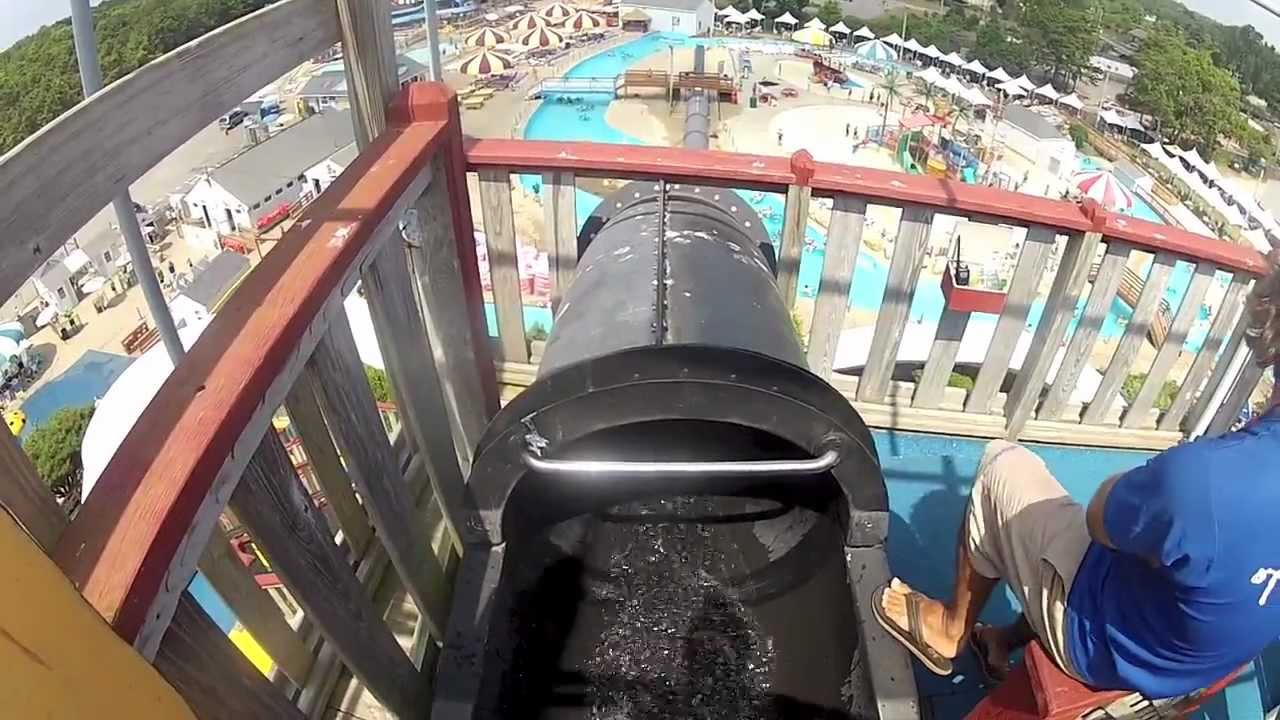 GoPro waterslides at Water Wizz - YouTube