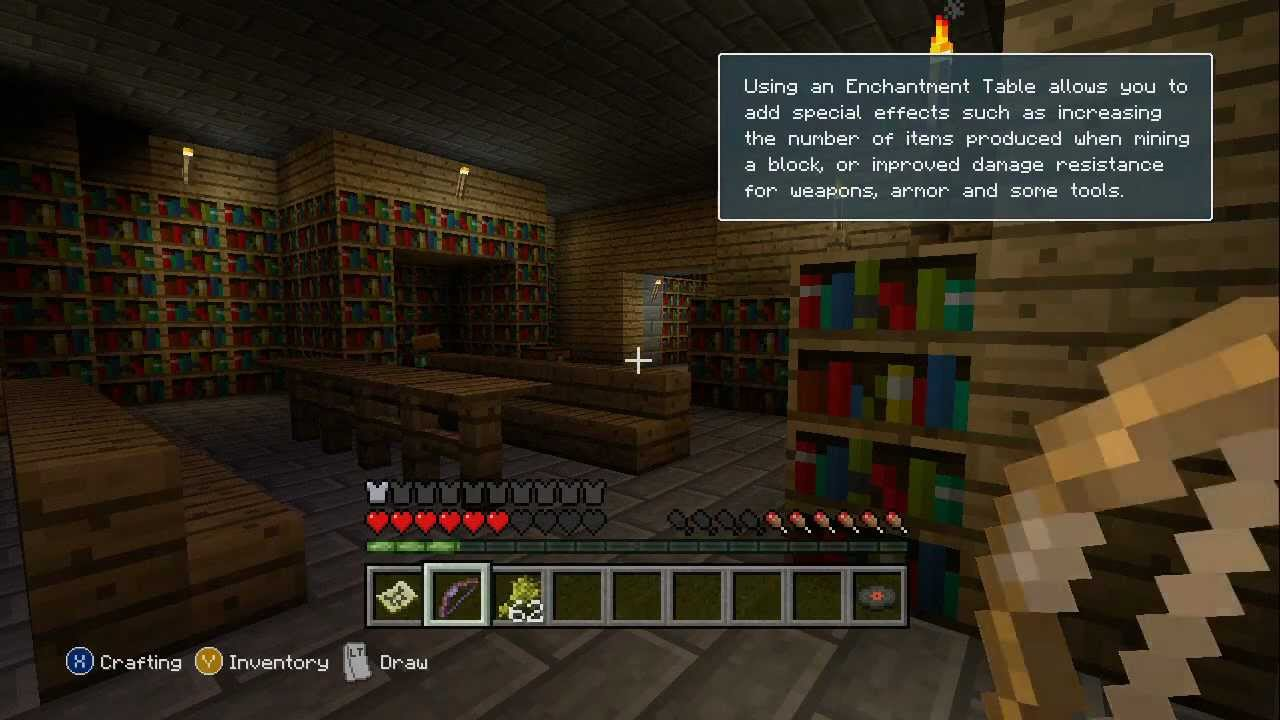how to look at yourself in minecraft xbox 360 edition