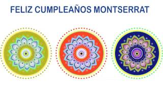 Montserrat   Indian Designs - Happy Birthday