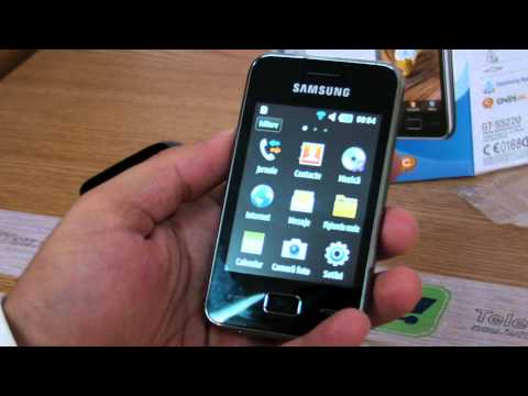 Samsung Star 3 s5220 review HD ( in Romana ) - www.TelefonulTau.eu -