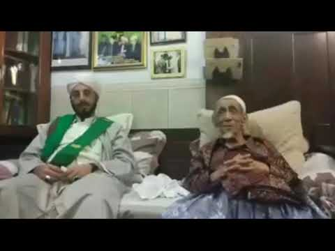 Sholawat Khodijah Kubro Kh Maimun Zubair Bersama Habib Idrus Yaman