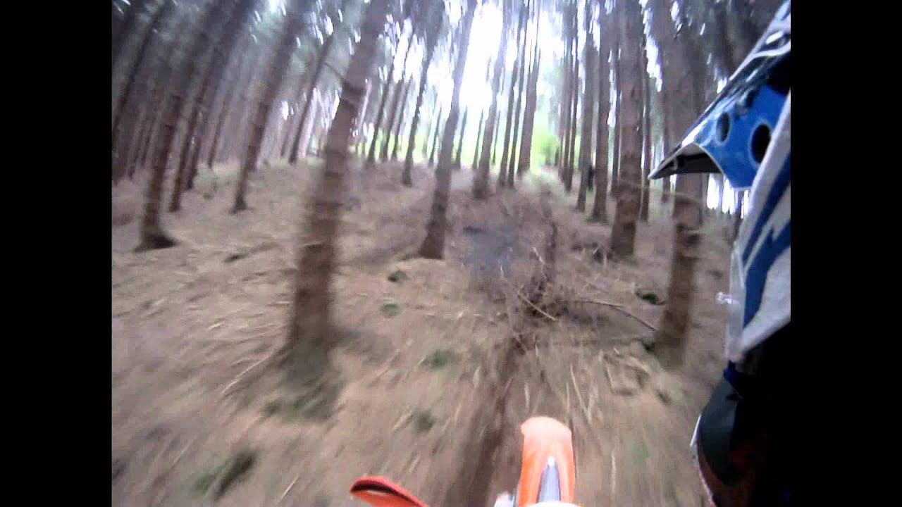 ktm 125 exc hill-climb - youtube