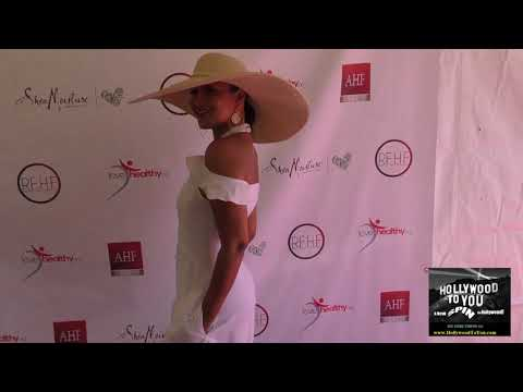 LisaRaye McCoy at the Robi Reed Annual End of Summer Celebration in Beverly Hills