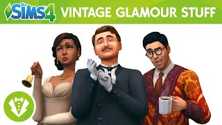 Скачать The Sims 4 Vintage Glamour Stuff Official Trailer