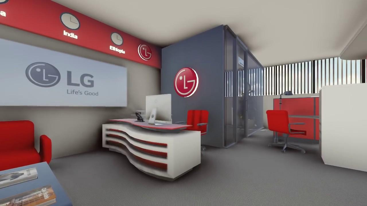 good interior office interior decoration. LG-Ethiopia ELECTRONICS Interior Design (AFRO DESIGN) Good Office Decoration O