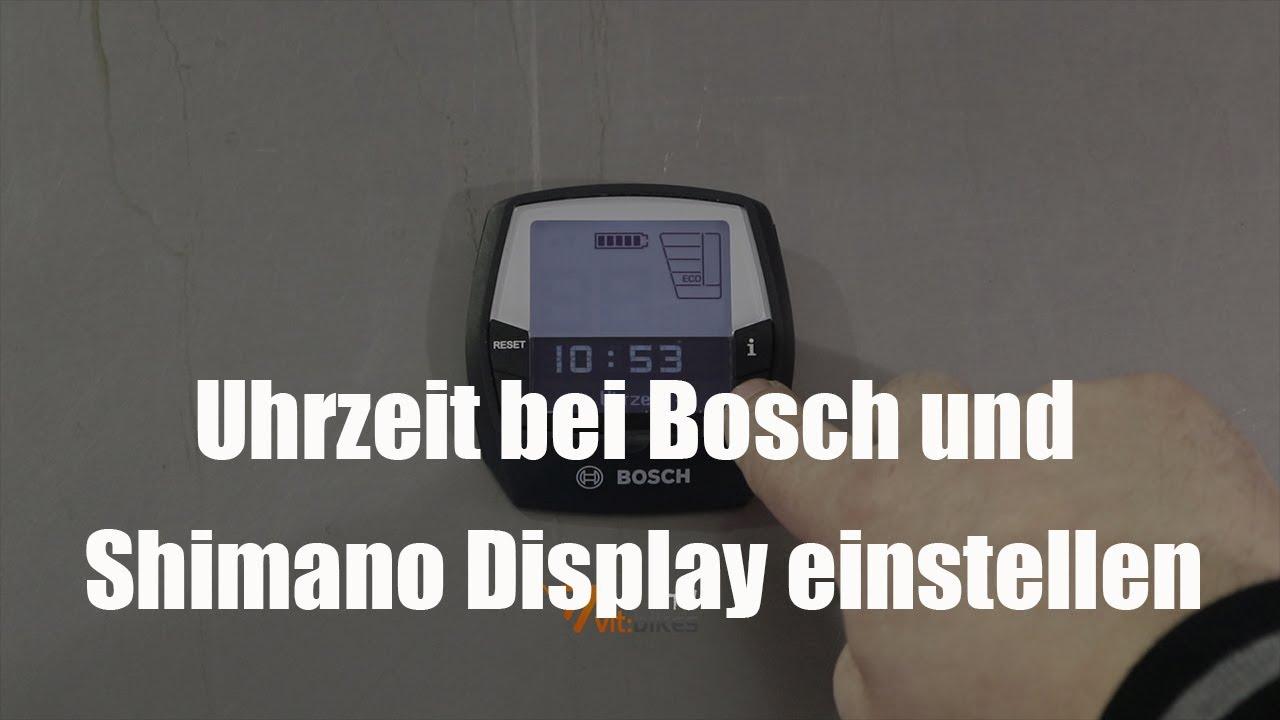 Bosch Kühlschrank Temperatur Einstellen : Uhrzeit einstellen bei bosch und shimano vit bikestv youtube