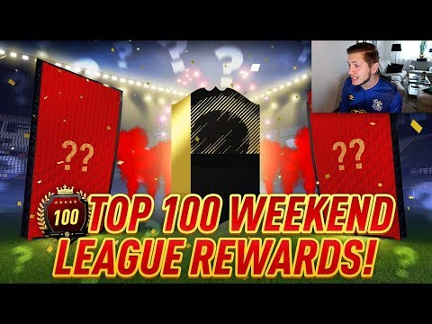 TOP 100 FUT CHAMPIONS PACK OPENING! NO ONE BANNED?
