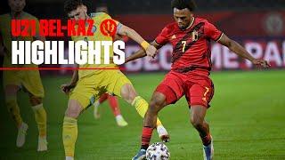Бельгия U-21  2-0  Казахстан U-21 видео