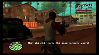 Grand Theft Auto San Andreas (PS4) Story Part 16 Gang Areas & More Girlfriends