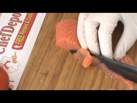 Testing Kyocera Ceramic Knife
