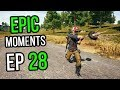 PUBG: Epic & Lucky Moments Ep. 28