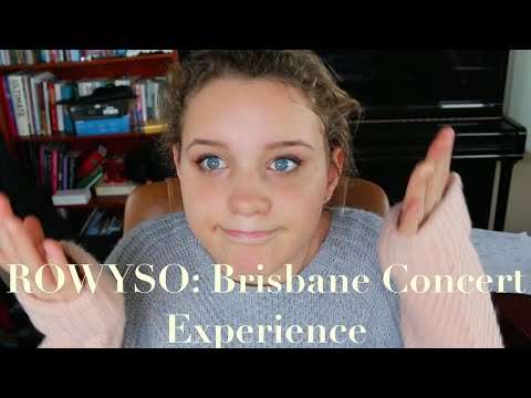 ROWYSO: Brisbane Concert Experience