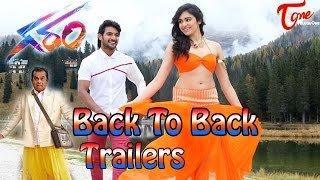 Garam Telugu Movie Back To Back Trailers ||  Aadi || Adah Sharma