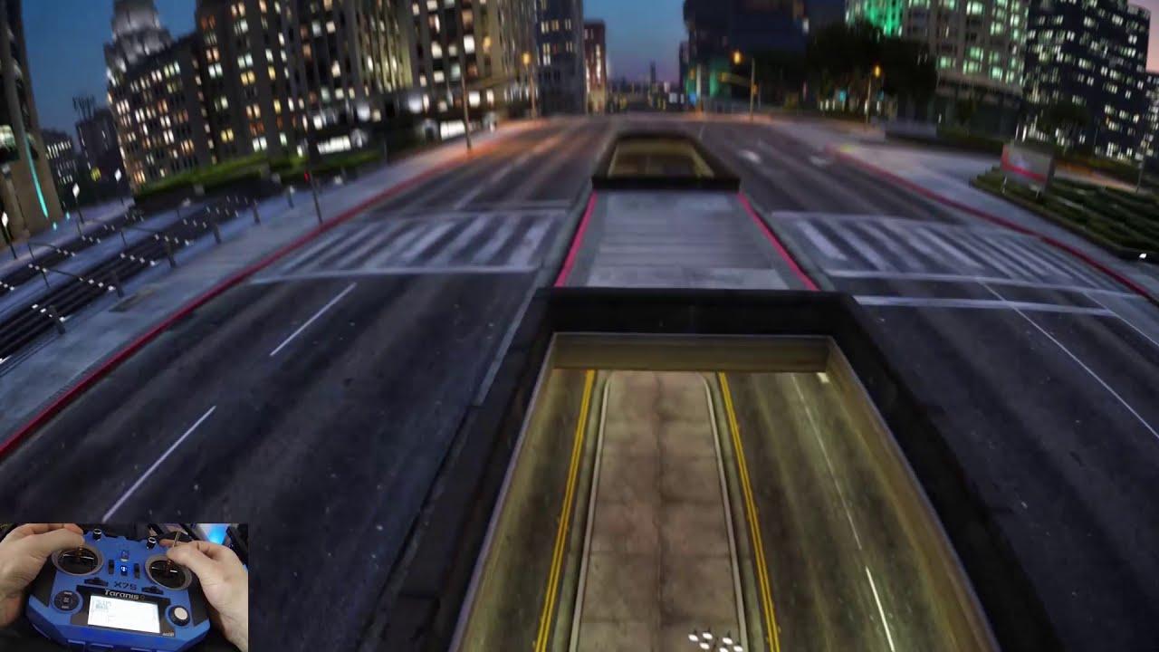 FPV | City Lights - GTA V [Natural Vision Evolved] фотки