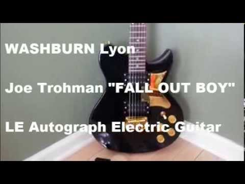 washburn lyon li15 electric guitar