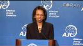 Condoleezza Rice on Diplomatic Challenges to Iran