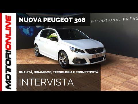 Nuova Peugeot 308 | Intervista a Giulio Marc D'Alberton