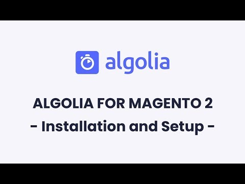 Algolia for Magento 2 | Installation and Setup