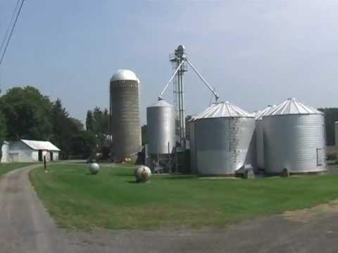 Farm For Sale Near State College PA   The Grain Storage Facilities