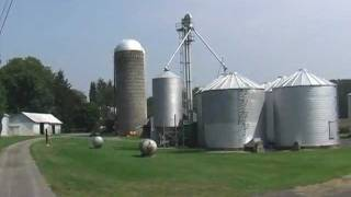 Farm For Sale near State College PA - The Grain Storage Facilities