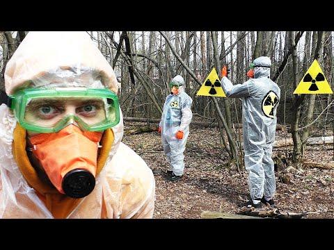 ✅Переехали жить в Чернобыль и за Коронавируса ☢ Проникли на Секретный Завод Припяти ВЕКТОР