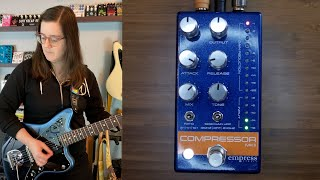 Empress Effects Compressor MKII on Guitar and Bass