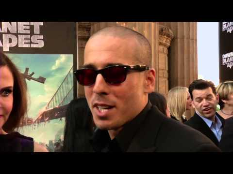 Dawn Of The Planet of the Apes: Kirk Acevedo Red Carpet Movie Premiere Interview