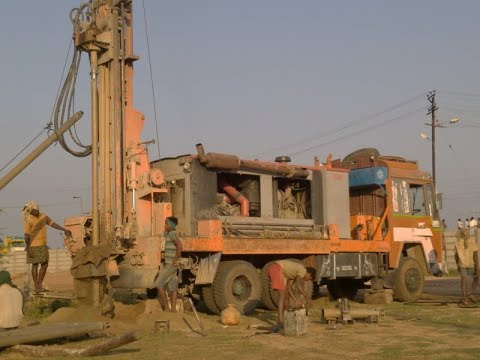 AIR BOREWELL DRILLING FULL PROCESS | BOREWELL PROCESS | TUBE WELL