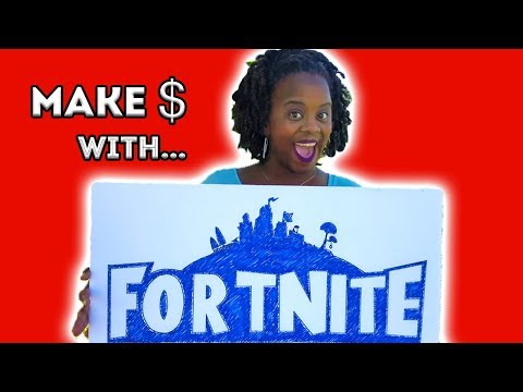 How To Make Money Playing Video Games!! (Fortnite)
