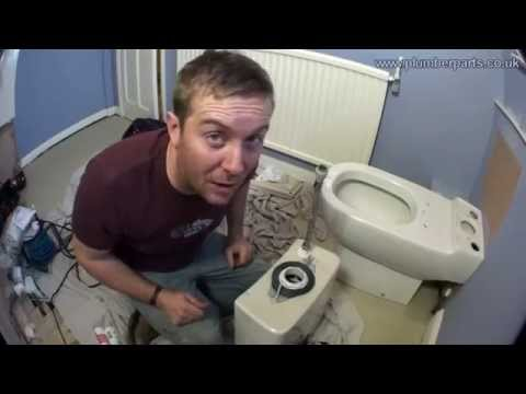 How to remove and install a toilet