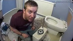 HOW TO REMOVE AND INSTALL A TOILET - PLUMBING TIPS