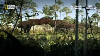티라노사우루스 두 마리의 사투가 화석으로 발견되다!