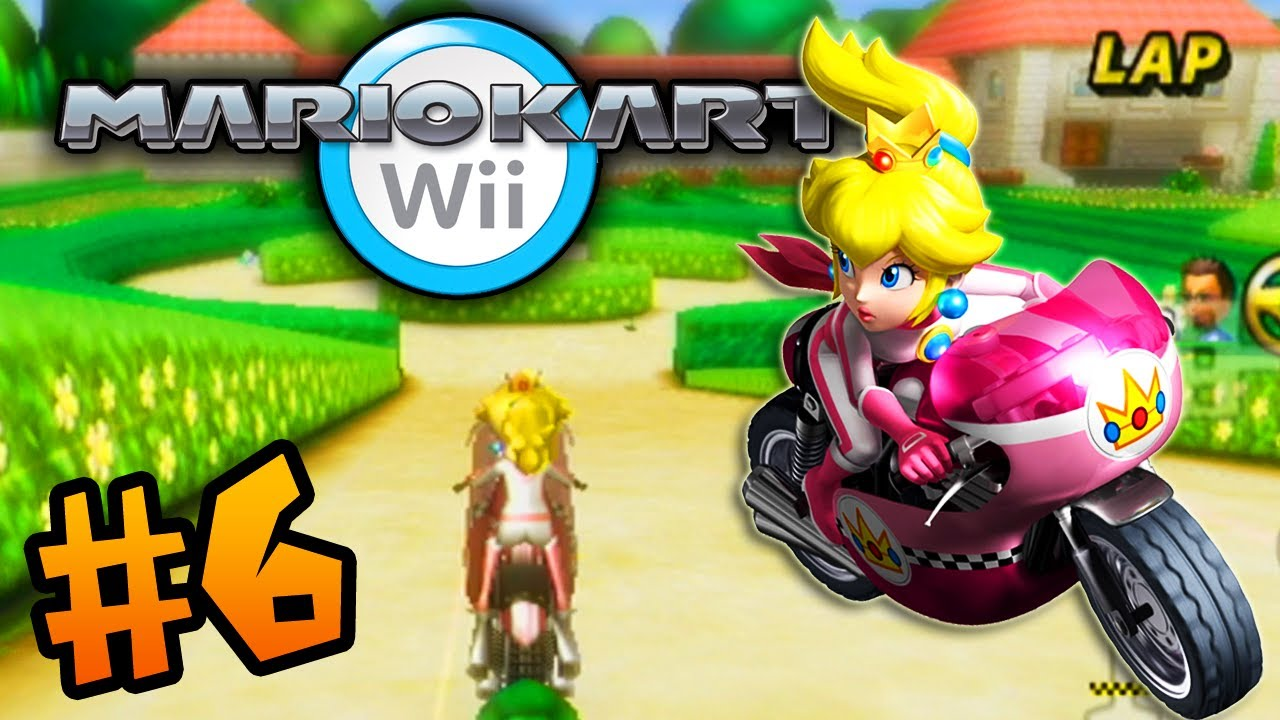 close races ali a plays mario kart wii 6 youtube. Black Bedroom Furniture Sets. Home Design Ideas