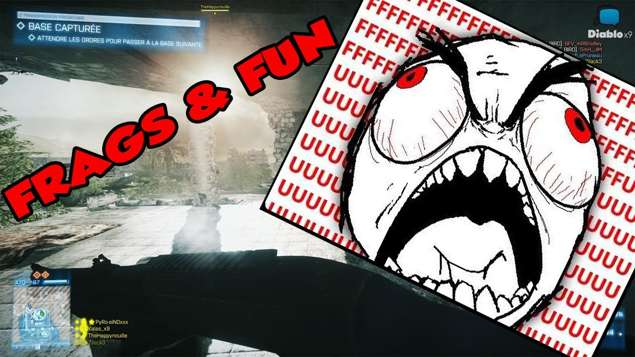 FRAGS & FUN sur BF3 ! - Ruée sur péninsule de sharqi