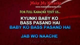 Karaoke - Baby Ko Bass Pasand Hai - Sultan