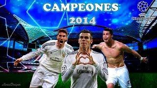 Real Madrid Uefa Champions League 2014   Wallpaper Speedart