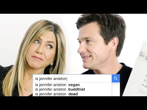 Jennifer Aniston & Jason Bateman Answer the Web's Most Searched Questions  WIRED