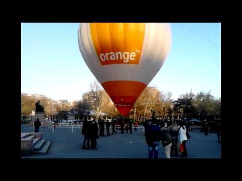 Orange Armenia(возд. шар 2014. 04. 1)
