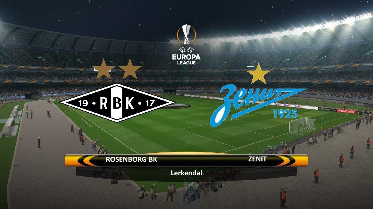 Rosenborg BK vs Zenit St. Petersburg | 02/11/2017 | UEFA Europa league 2017/2018 - YouTube