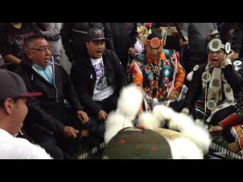 Blackfoot Confederacy @ Morley Powwow 2015 - Intertribal Song