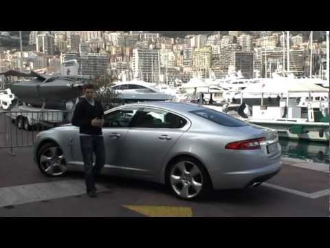jaguar xf 2008 jaguar xf goes for broke in monte carlo performance youtube. Black Bedroom Furniture Sets. Home Design Ideas