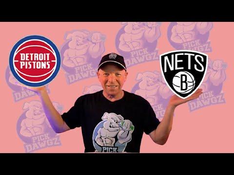 Detroit Pistons vs Brooklyn Nets 3/26/21 Free NBA Pick and Prediction NBA Betting Tips
