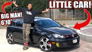VOLKSWAGEN GTI REVIEW!! FROM A TALL GUYS PERSPECTIVE..