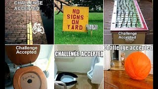 Challenge accepted! Funny memes of everyday situations