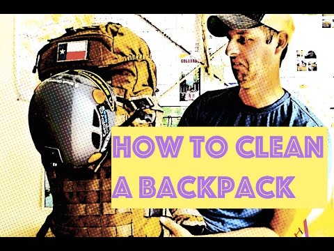 How to Clean a Backpack