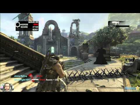 Gears of War 3 Horde - Mercy w/ Avik Wave 25 (Normal)