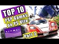 Top 10 PSP Games downloadable only from the PS3 PSN Store